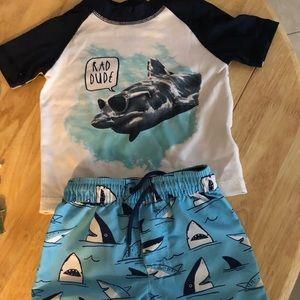 🌿 infant swim suit